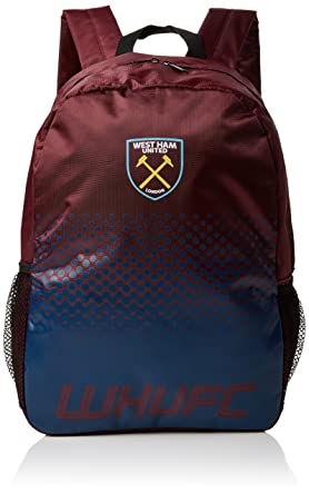 0ee067acd8f5 West Ham United FC Fade Rucksack Backpack  Amazon.co.uk  Clothing