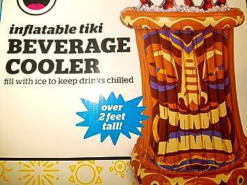 Tiki hinchable enfriador de bebidas: Amazon.es: Deportes y ...