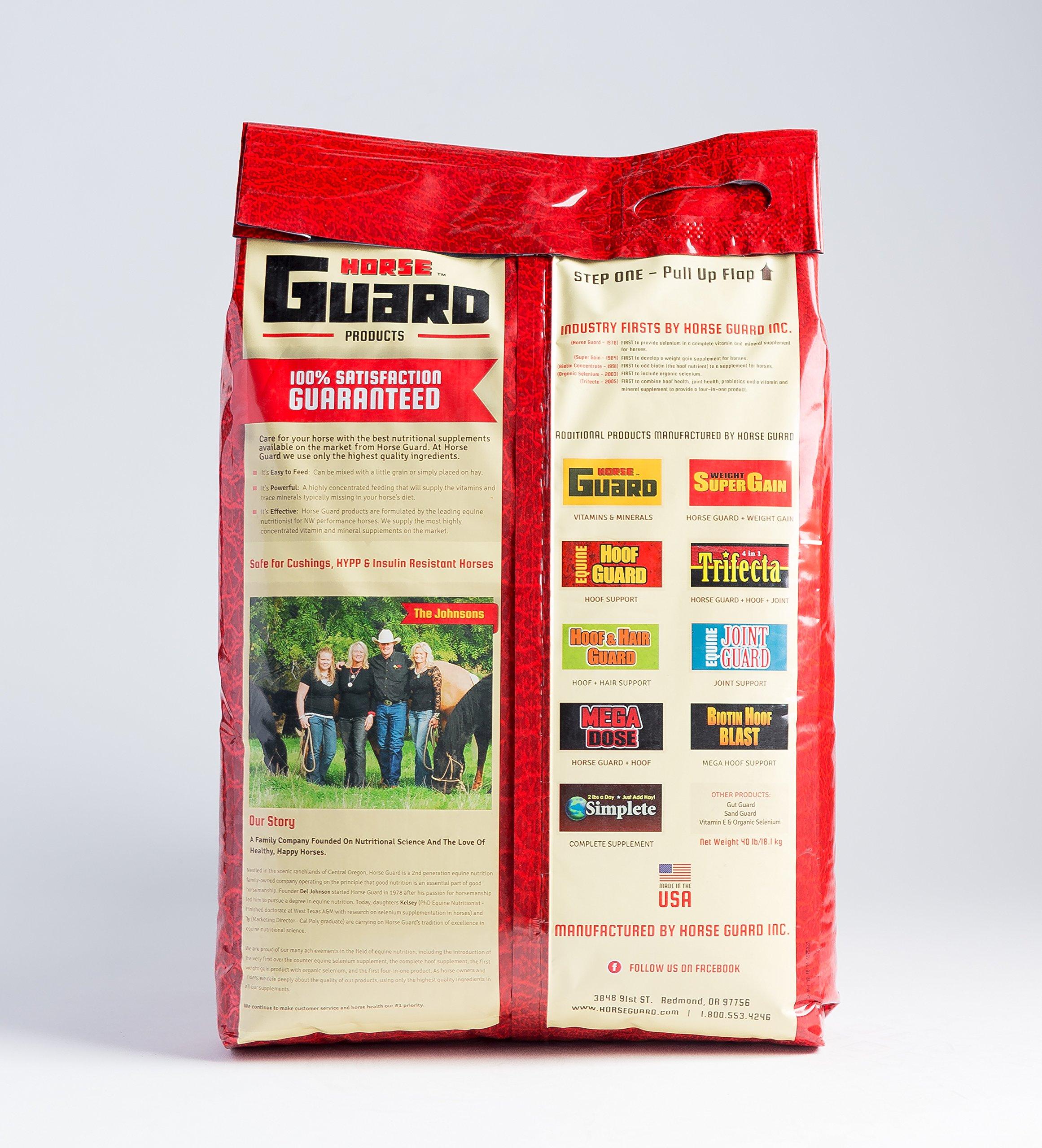 Horse Guard Mega Dose Equine Vitamin Mineral Hoof & Probiotic Supplement, 40 lb by Horse Guard (Image #3)