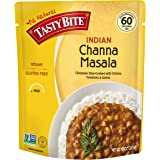 Tasty Bite Indian Entree Channa Masala 10 Ounce, Fully Cooked Indian Entrée with Chickpeas Onions Tomatoes & Spices, Vegan, Gluten Free, Microwaveable, Ready to Eat