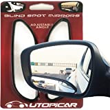 Blind Spot Mirrors. long design Car Mirror for blind side by Utopicar for traffic safety. Door mirrors for great rear…