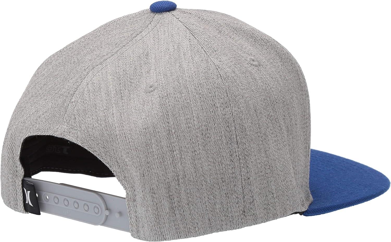 Hurley Mens Impact Wool Blend Snapback Baseball Cap Hat