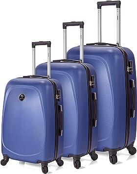 Pack 3 Maletas 4 Ruedas - Grande + Mediana + Cabina: Amazon.es ...