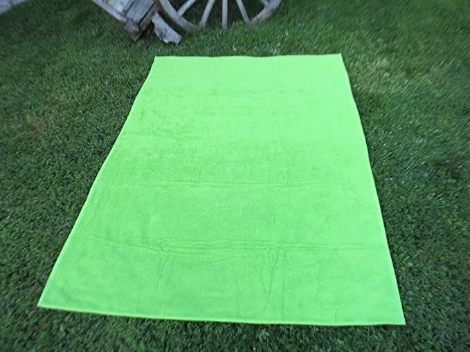 Toalla manta 150x200cm , 100%algodón, 460gr/m2, fabricada en Portugal. (verde): Amazon.es: Hogar