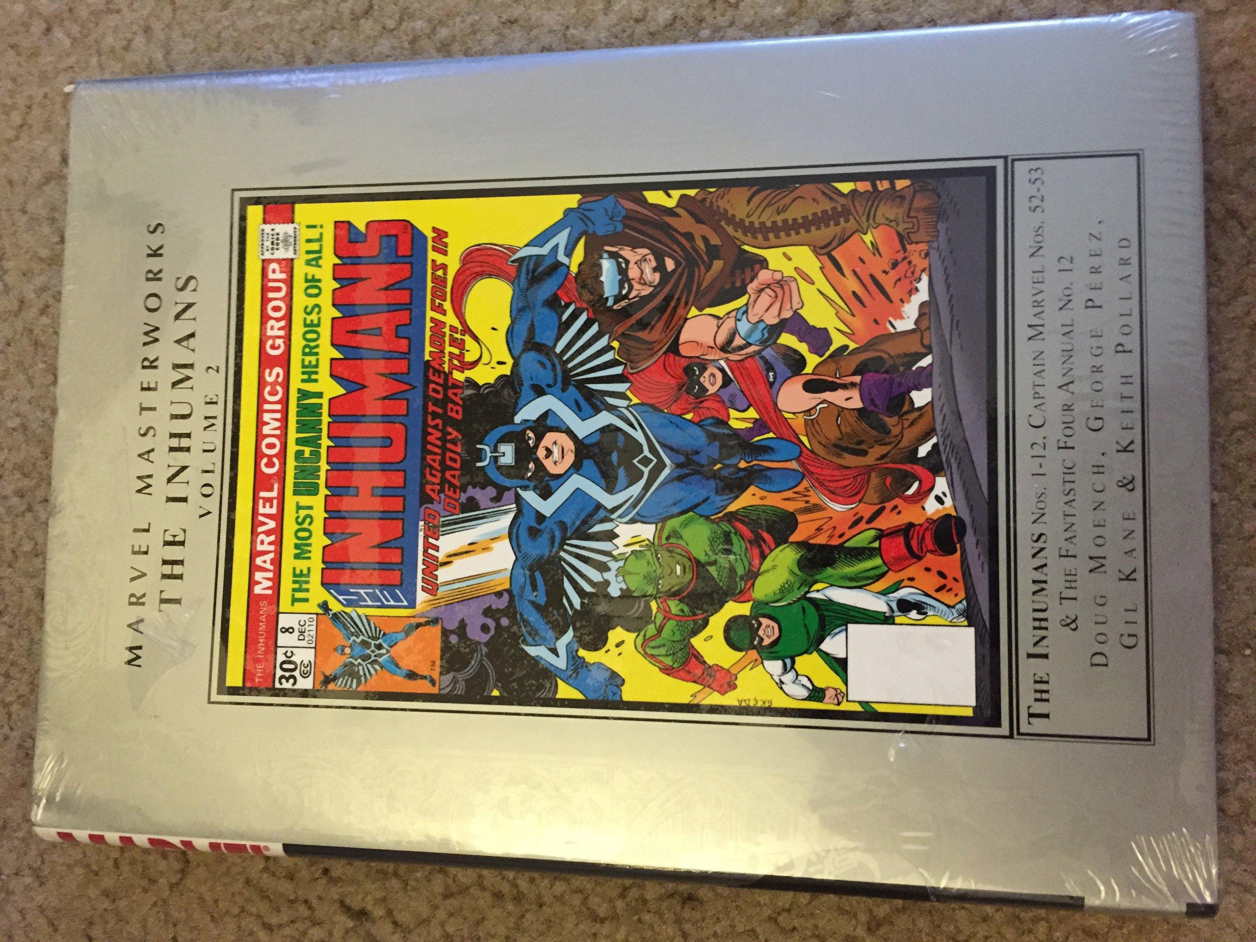 Marvel Masterworks: The Inhumans 2 by Marvel Enterprises (Image #1)