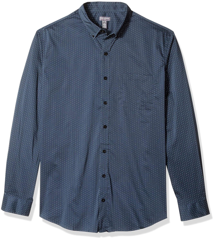 Van Heusen Mens Big and Tall Flex Slim Fit Stretch Long Sleeve Shirt