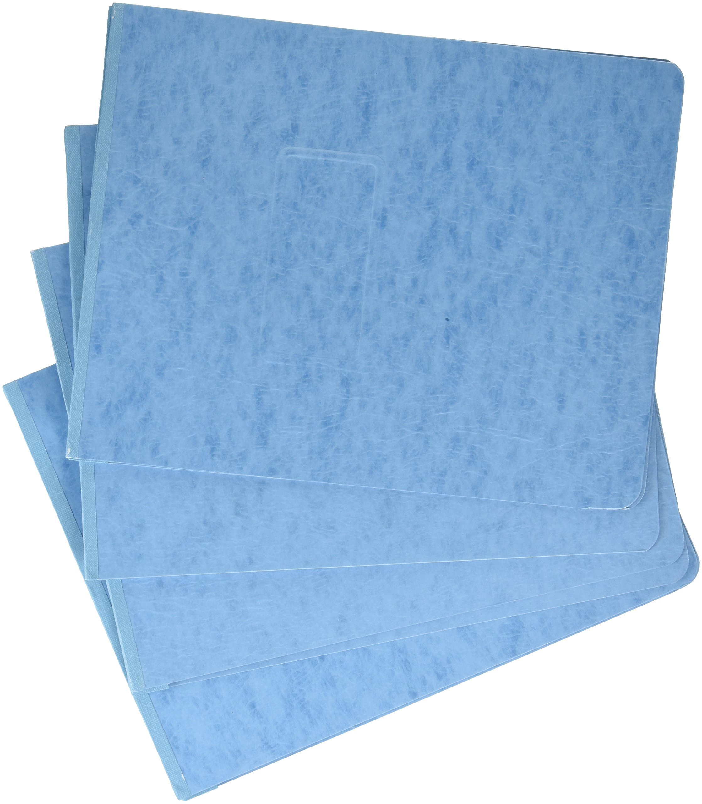 Oxford Pressguarad Report Covers with Reinforced Top Hinge, Light Blue, Letter Size, 25 Per Box (71101)