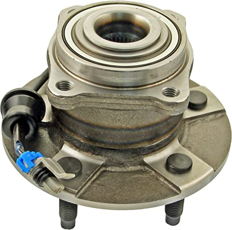 ACDelco 513137 Advantage Front Wheel Hub and Bearing Assembly with Wheel Speed Sensor and Wheel Studs