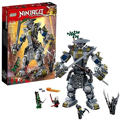 871d48ee41814 Amazon.com: LEGO NINJAGO Masters of Spinjitzu: Oni Titan 70658 Building Kit  (522 Piece): Toys & Games
