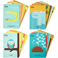 Petit Collage FC-ANIMALS A-Z Animals Flash Cards, Multi