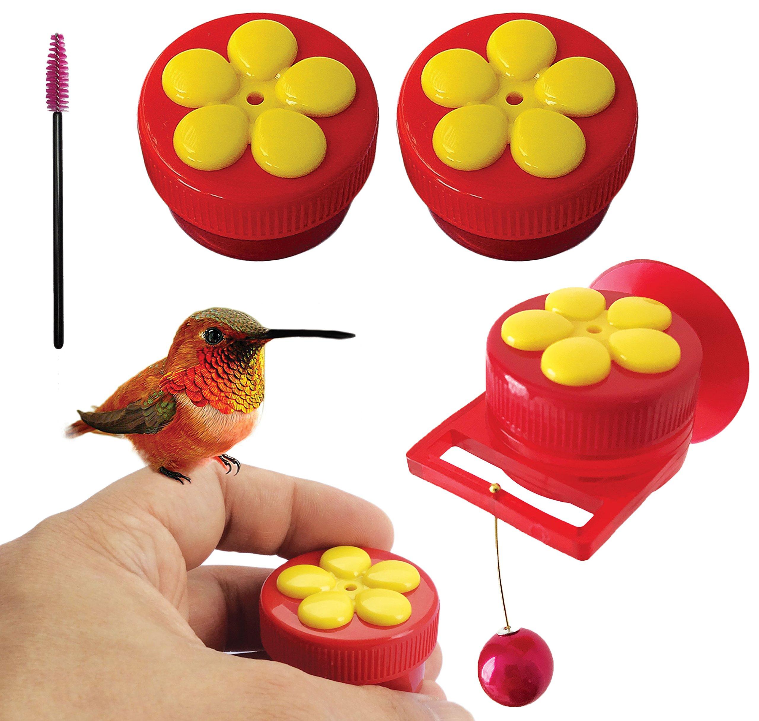 Aroma Trees Handheld Hummingbird Feeders Perch—Pack of 2