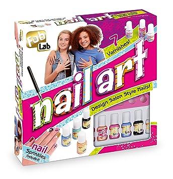 Fablab nail art kit interplay amazon toys games fablab nail art kit prinsesfo Choice Image