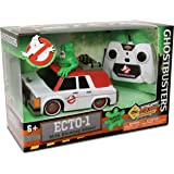Model Car ECTO-1 GHOSTBUSTERS with SLIMER R/C RadioControlled LIGHTS 16cm Original Official