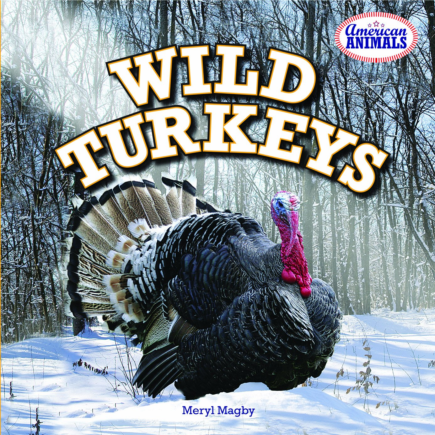 wild turkeys book for kids