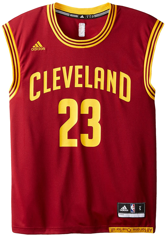360fc232f adidas NBA Cleveland Cavaliers LeBron James  23 Men s Replica Jersey   Amazon.co.uk  Sports   Outdoors