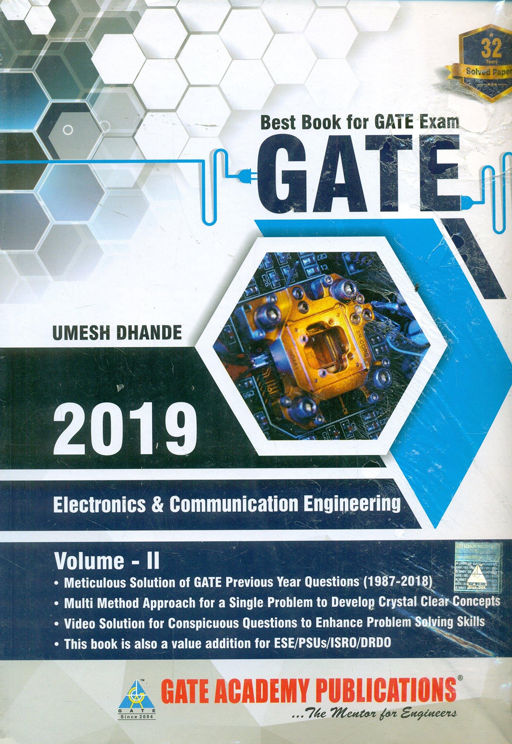Exam book ece gate for