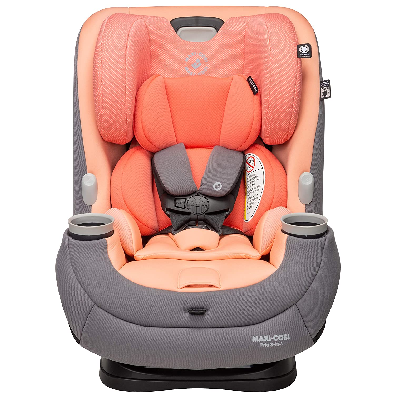 Maxi-Cosi Pria 3-in-1 Convertible Car Seat, Peach Amber, One Size