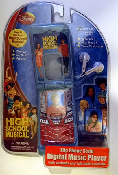 Buy High School Musical - Flip Phone Music Player Online at