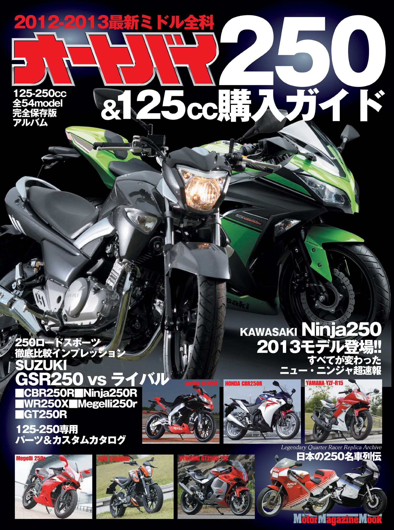 Motorcycle Buying Guide 250 & 125cc (Motor Magazine Mook ...