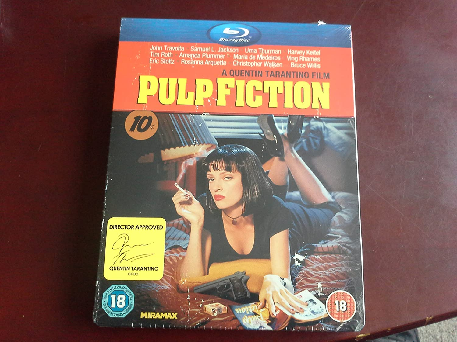 pulp fiction limited edition play.com blu ray steelbook: Amazon.es: Cine y Series TV