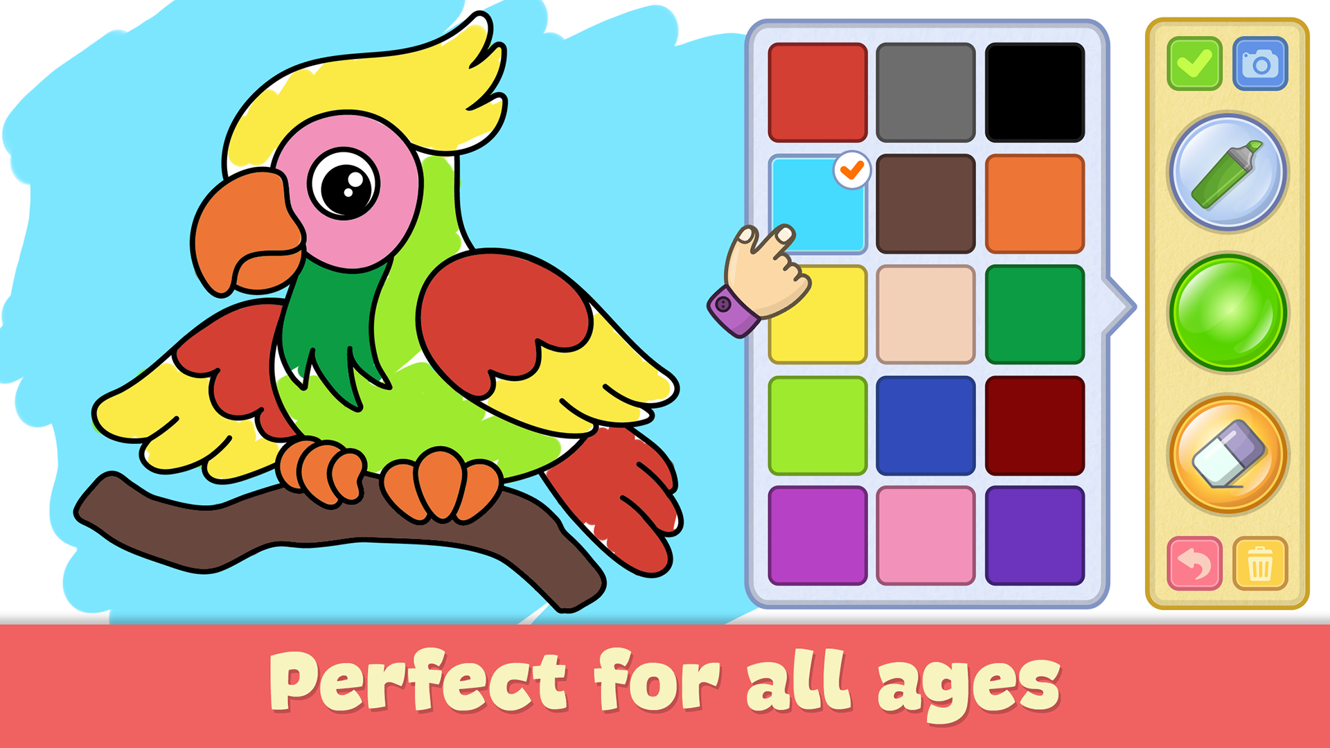 Amazon.com: Baby coloring games for kids: Appstore for Android