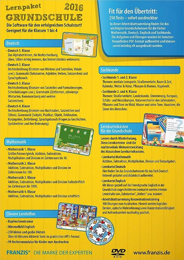 Lernpaket Grundschule 2016|2016|-|-|Windows PC|Disc|Disc: Franzis ...