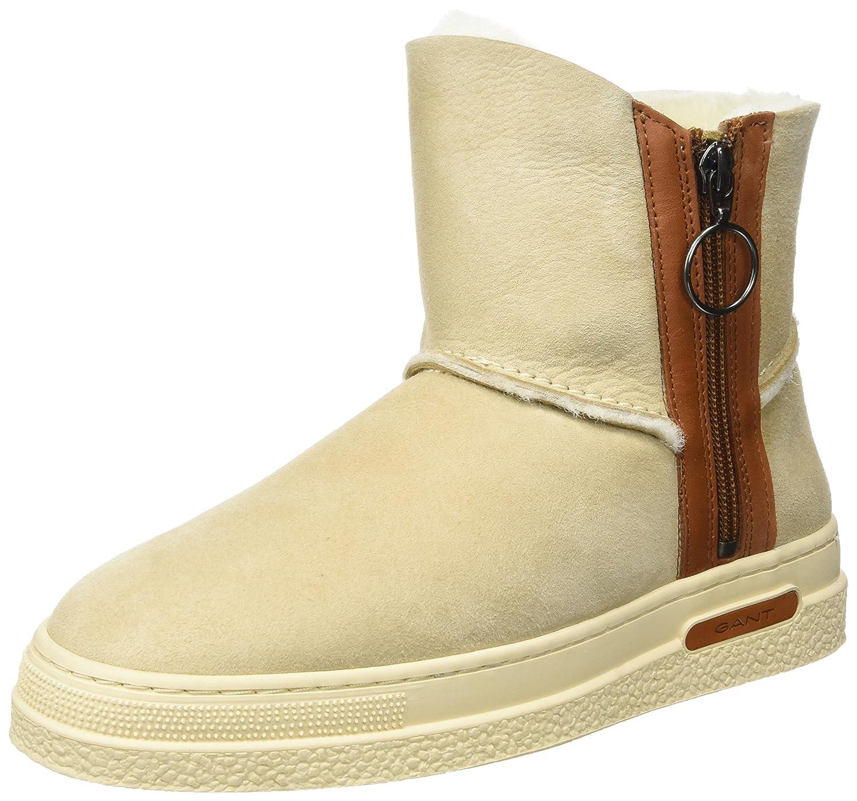 Footwear Damen Amy Stiefel, Beige (Warm Khaki/Camel), 39 EU GANT