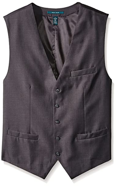 Amazon.com: perry ellis Men s para hombre sólido traje ...