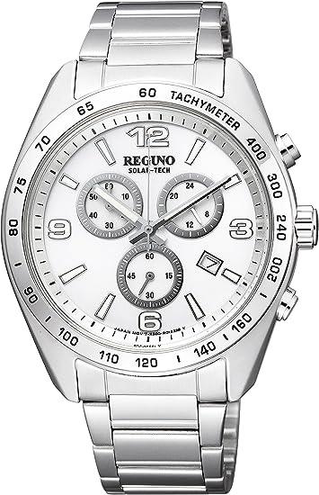 [シチズン] 腕時計 レグノ ソーラーテック スタンダード クロノグラフ KL1-410-11 シルバー