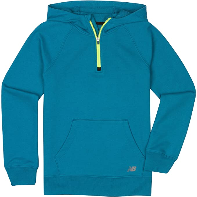 new balance blue hoodie