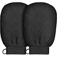 Yiclick Korean Exfoliating Gloves 2 Pcs, SPA Exfoliator Scrub For Bath Shower Exfoliation Mitt, Body Scrubber Exfoliator…