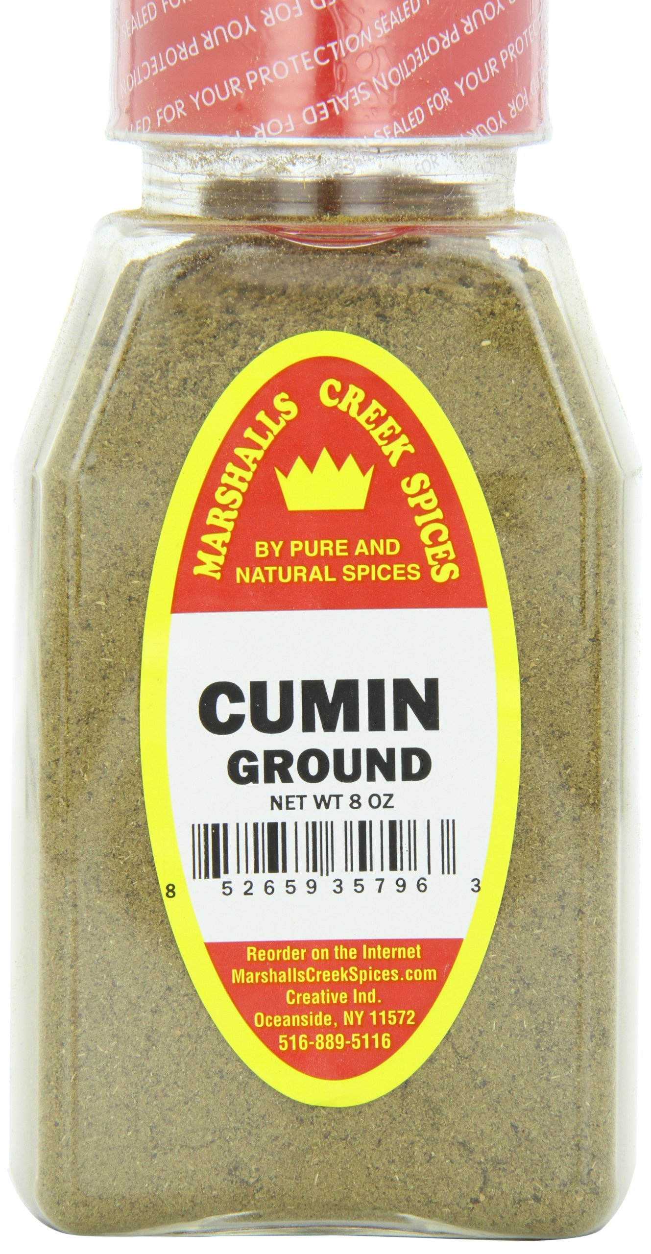 Marshalls Creek Spices Cumin Ground Seasoning, 8 Ounce (Pack of 12)