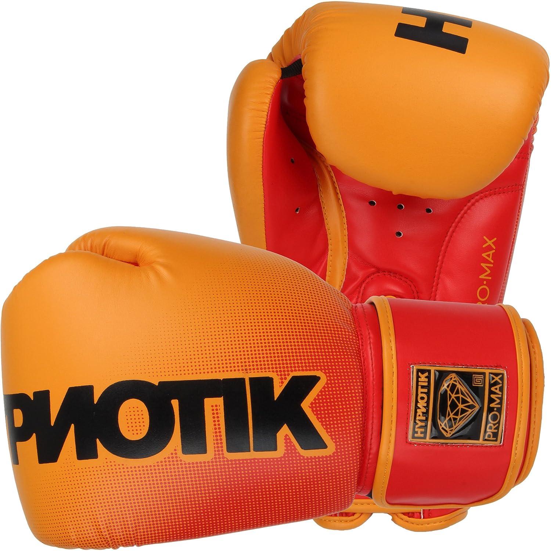 Hypnotik Promaxタイスタイルトレーニンググローブ オレンジ Fluorescent 16 oz.