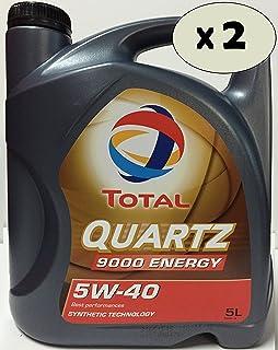 Total 148650 Quartz 9000 5W-40 Aceites de Motor para Coches ...
