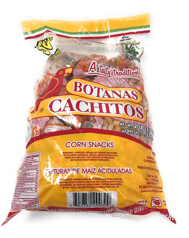 Amazon.com: Botanas Cachitos & Salsa San Luis Bundle (Free Planilla de Loteria)