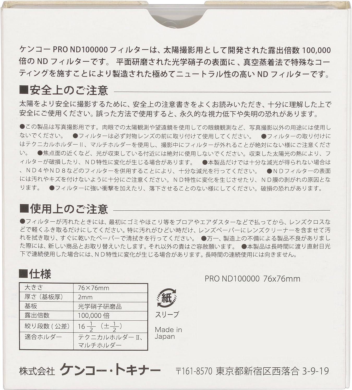 Kenko 72mm PRO1D Pro ND4 Slim Frame Camera Lens Filters