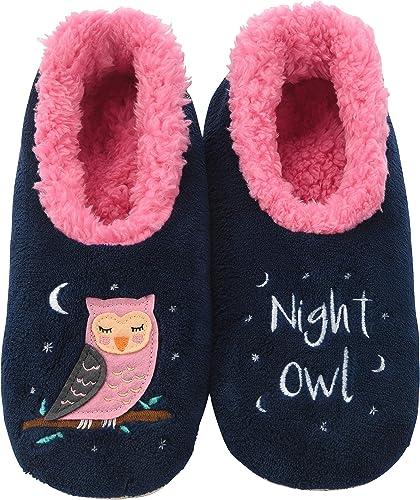 Snoozies Slippers for Women Koala//Naptime Pairables Womens Slippers