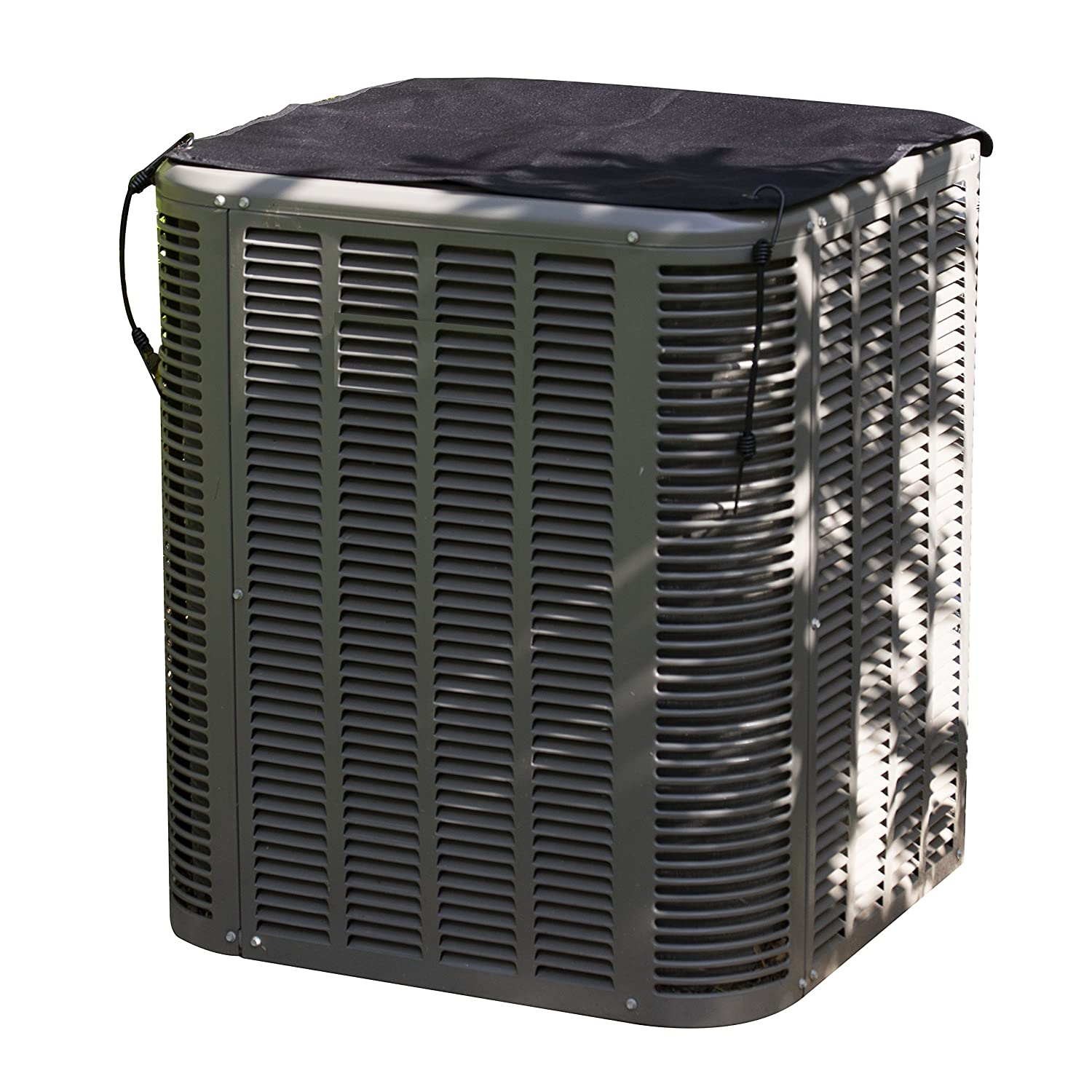AnyWeather Central Air Conditioner Top Outdoor Cover, Black AWPC11