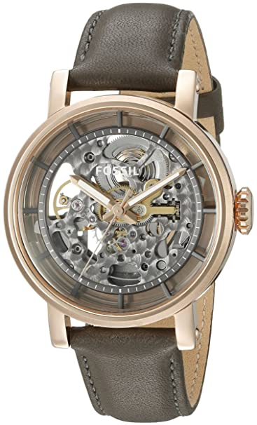 Fossil Original Boyfriend orologio automatico in pelle