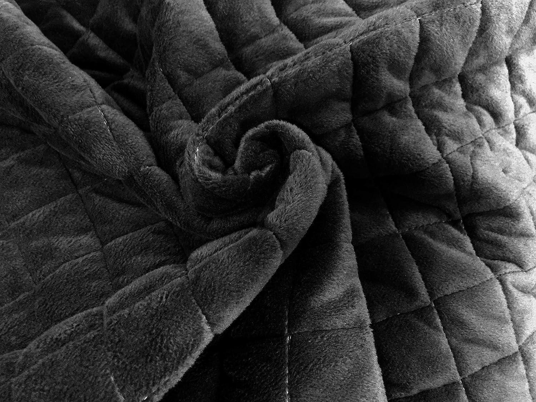 LZHDAR Manta Ponderada, Gris 30 * 30 * 15Cm con Diseño De Cremallera Oculta Aumenta La Serotonina Y La Melatonina Transpirable Durable: Amazon.es: Hogar
