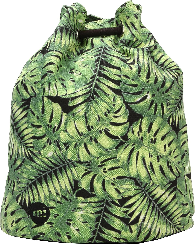 Mi-Pac Premium Swing Bag Bolsa de Cuerdas para El Gimnasio, 38 cm, 18 litros, Tropical Leaf