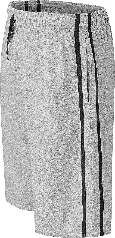 2 unidades de pantalones cortos de algod/ón para hombre con cintura el/ástica super suave y c/ómodo pijama ropa de dormir pijama ropa de dormir