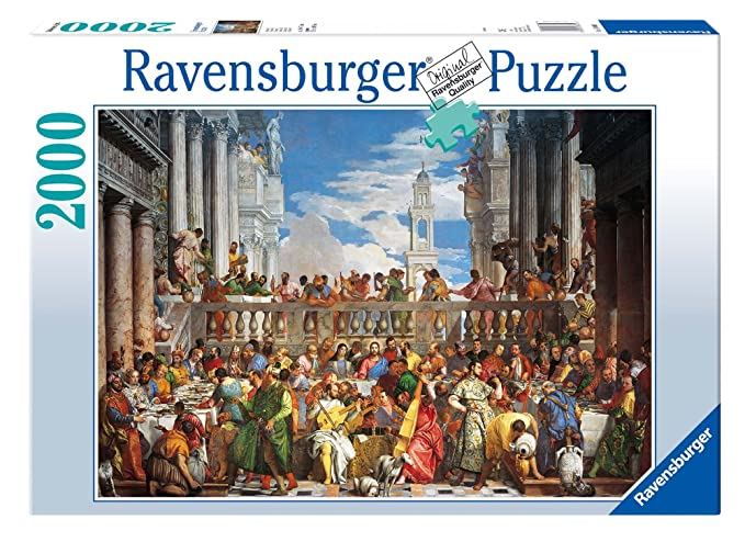 Ravensburger Puzzle (2000 Pieces) Building & Construction Toys at amazon