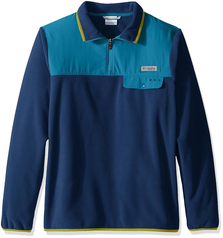Amazon.com: Columbia Sportswear Men's Harborside Overlay Fleece ...