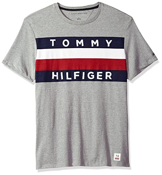 9bc42381e Tommy Hilfiger Men s Upstate Flag Graphic T-Shirt