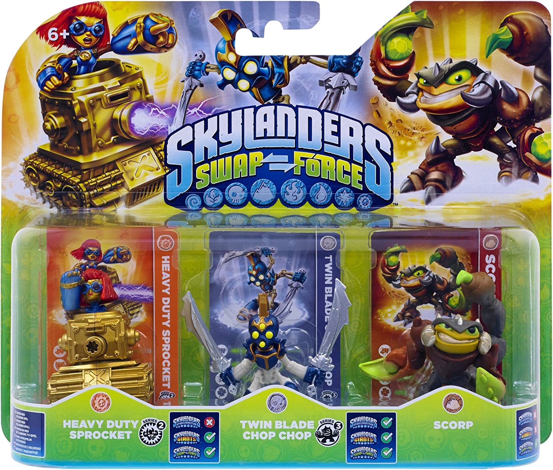 Skylanders: Swap Force - Triple Pack D: Amazon.es: Videojuegos