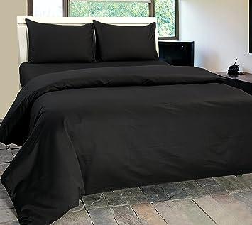 Ordinaire Homescapes Luxus Baumwoll Satin Bettwäsche 135x200 Cm 2 Tlg Anthrazit  ägyptische Baumwolle Fadendichte 1000