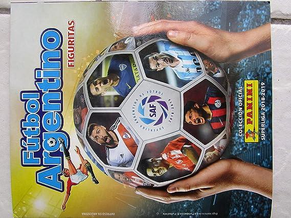 Amazon.com: PANINI Futbol ARGENTINO Superliga 2018 19 ...