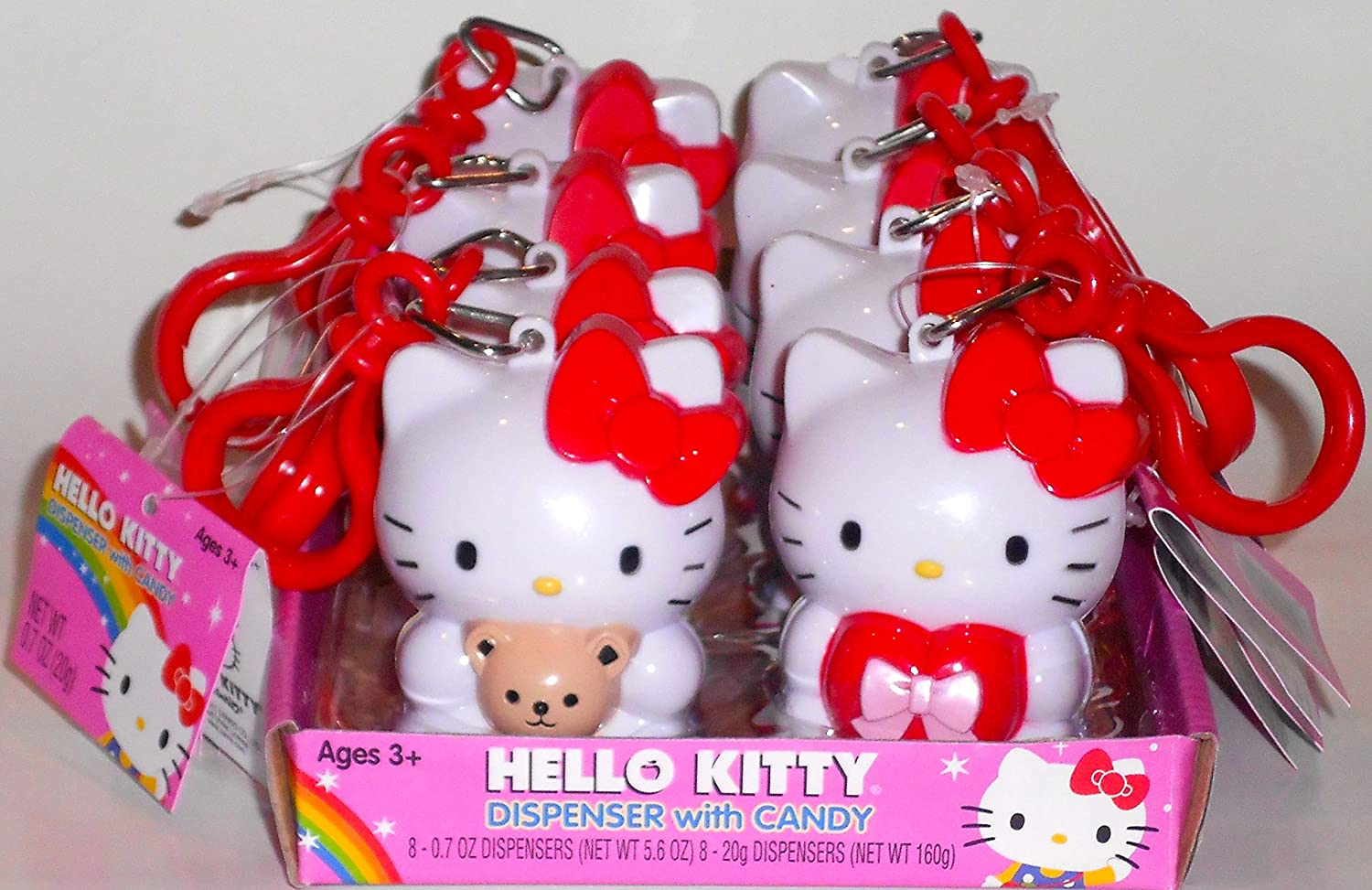 Hello Kitty Candy relleno dispensadores de Samsung Galaxy S3 MINI i8190 ~ 8 unidades: Amazon.es: Hogar