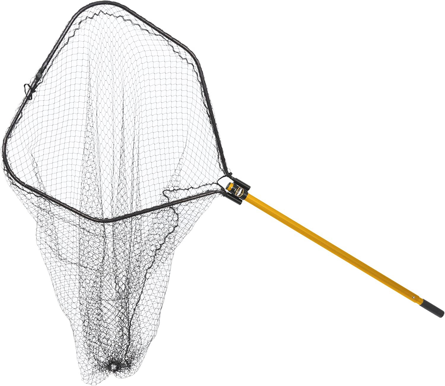 Frabill 8510 Power Stow Net with 36-Inch Telescoping Handle, 24 x 28-Inch